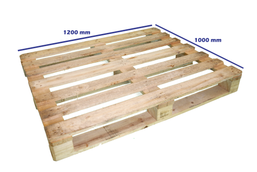 Palets reciclados 1200 x 1000 fuertes palets en madrid - Cuanto cuesta un palet de madera ...